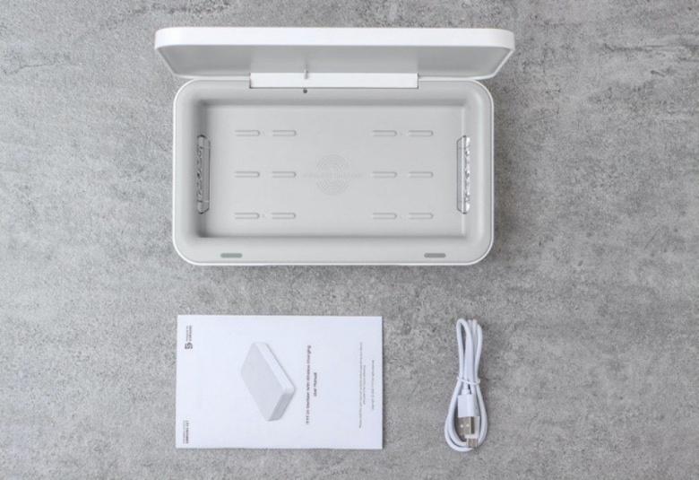 Samsung C&T выпускает стерилизатор, объединенный с беспроводным зарядным устройством