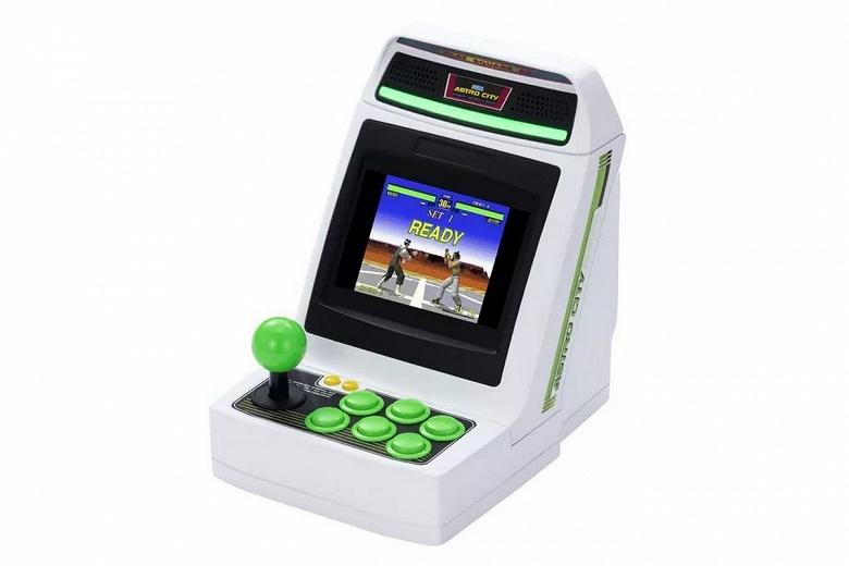 Когда ретро-консоль — это недостаточно ретро. Sega представила компактный аркадный игровой автомат Astro City Mini