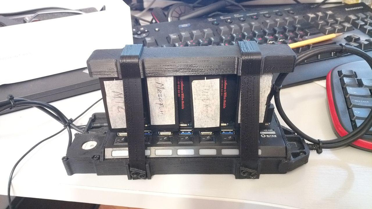 Одновременный speedtest на нескольких LTE-модемах - 1
