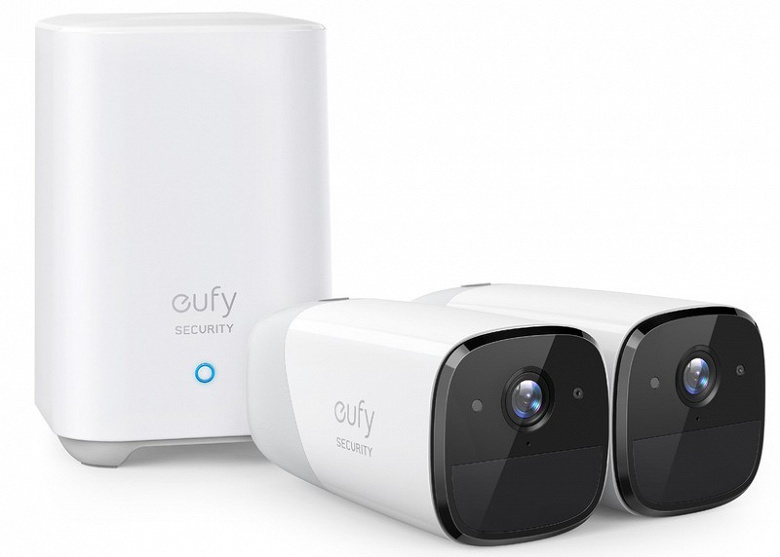 Представлена камера наблюдения EufyCam 2 Pro с поддержкой Apple HomeKit