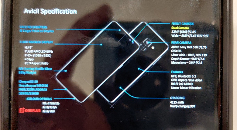 Много памяти, оптическая стабилизация и не самый большой аккумулятор. OnePlus Nord полностью рассекречен