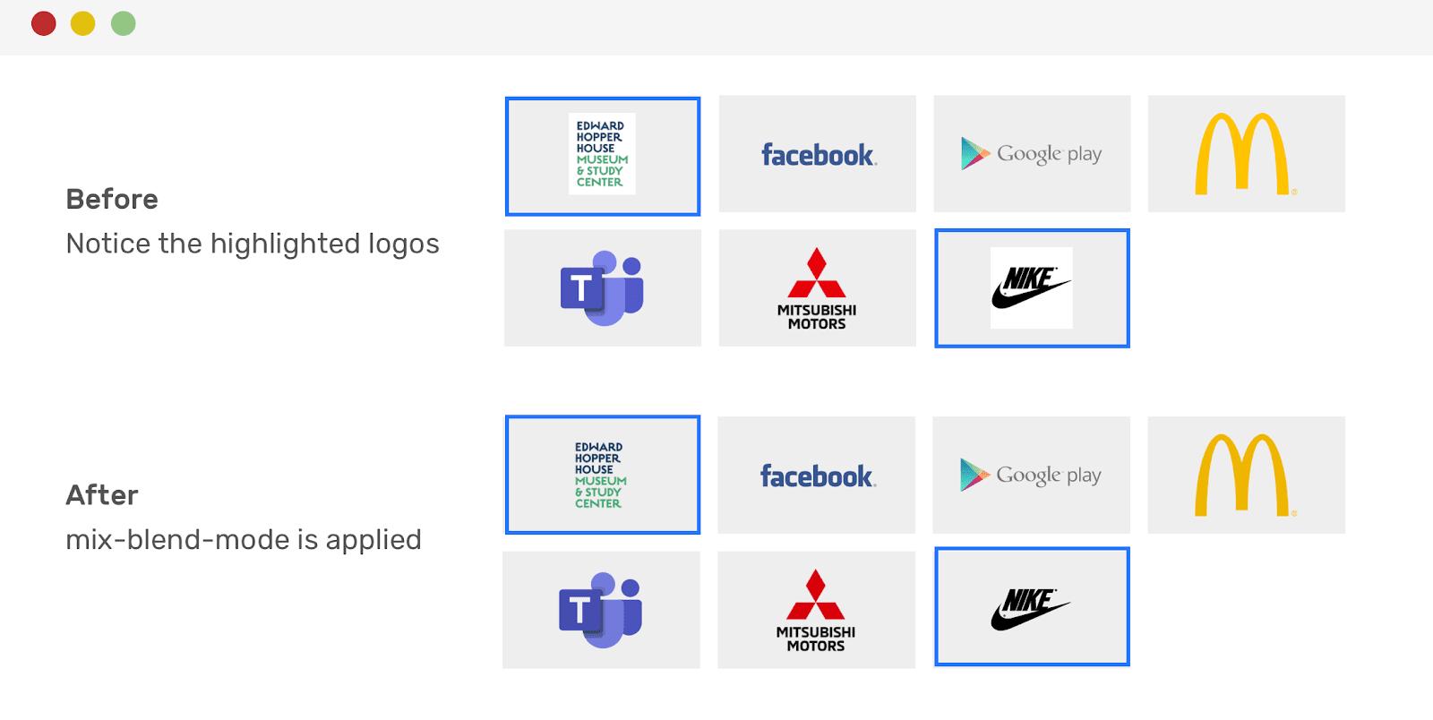 Выравнивание логотипов средствами CSS - 14