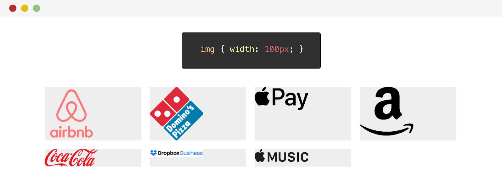 Выравнивание логотипов средствами CSS - 8