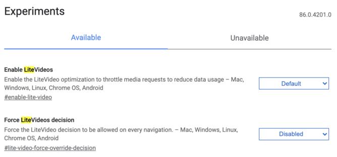 Google Chrome экономит трафик, занижая качество видео