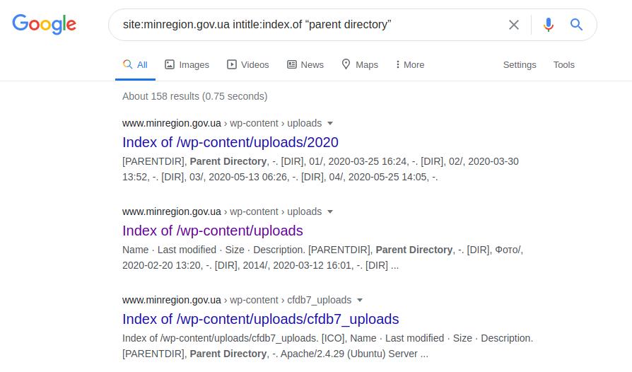 Google Dorking или используем Гугл на максимум - 18