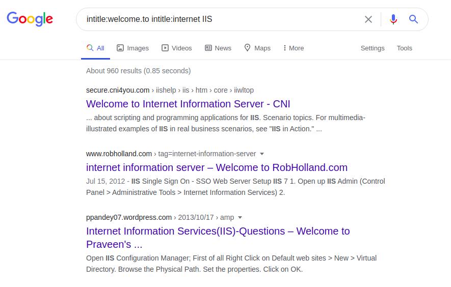 Google Dorking или используем Гугл на максимум - 22