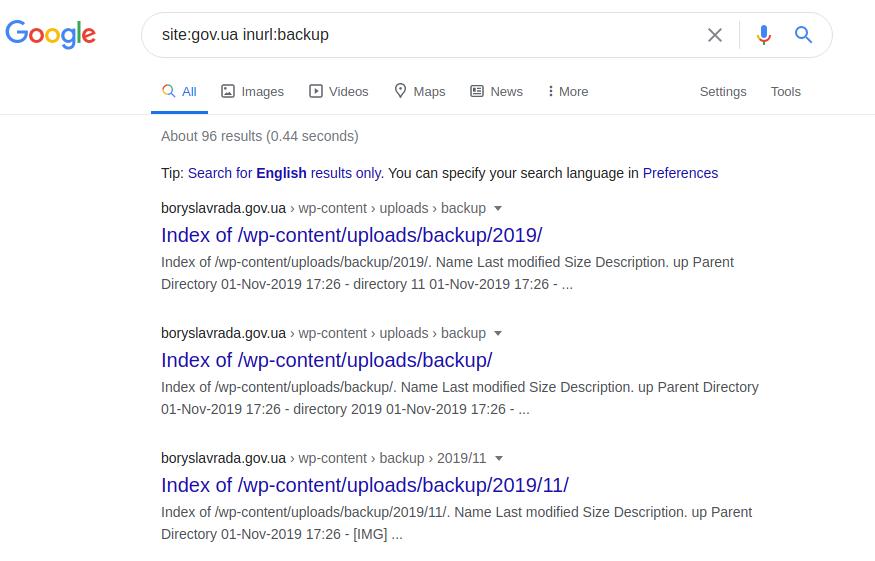 Google Dorking или используем Гугл на максимум - 25