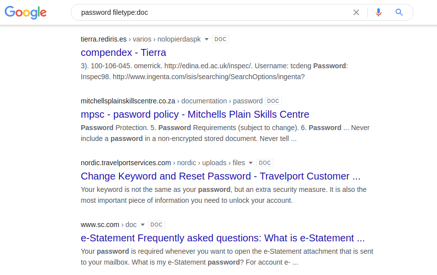 Google Dorking или используем Гугл на максимум - 32