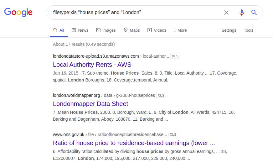 Google Dorking или используем Гугл на максимум - 35