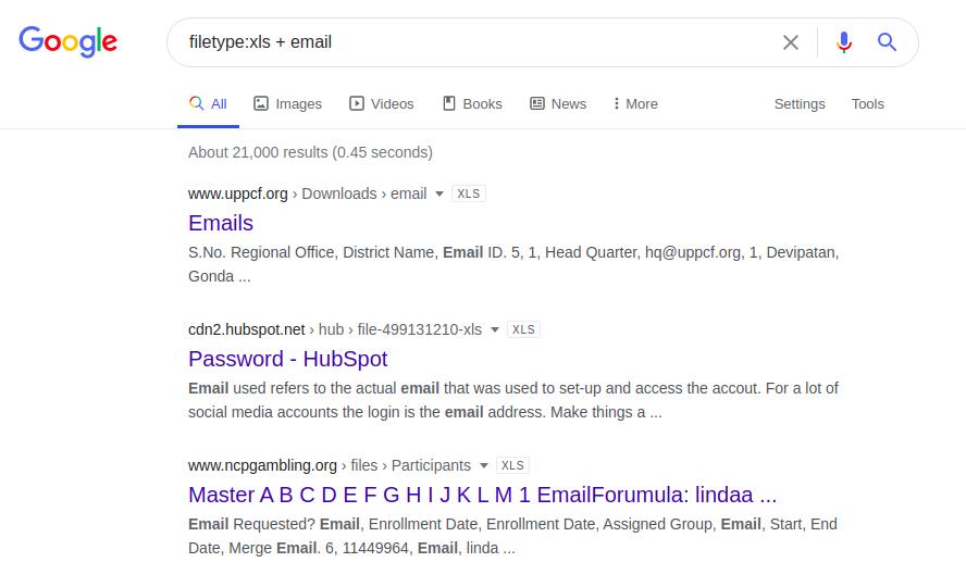 Google Dorking или используем Гугл на максимум - 5