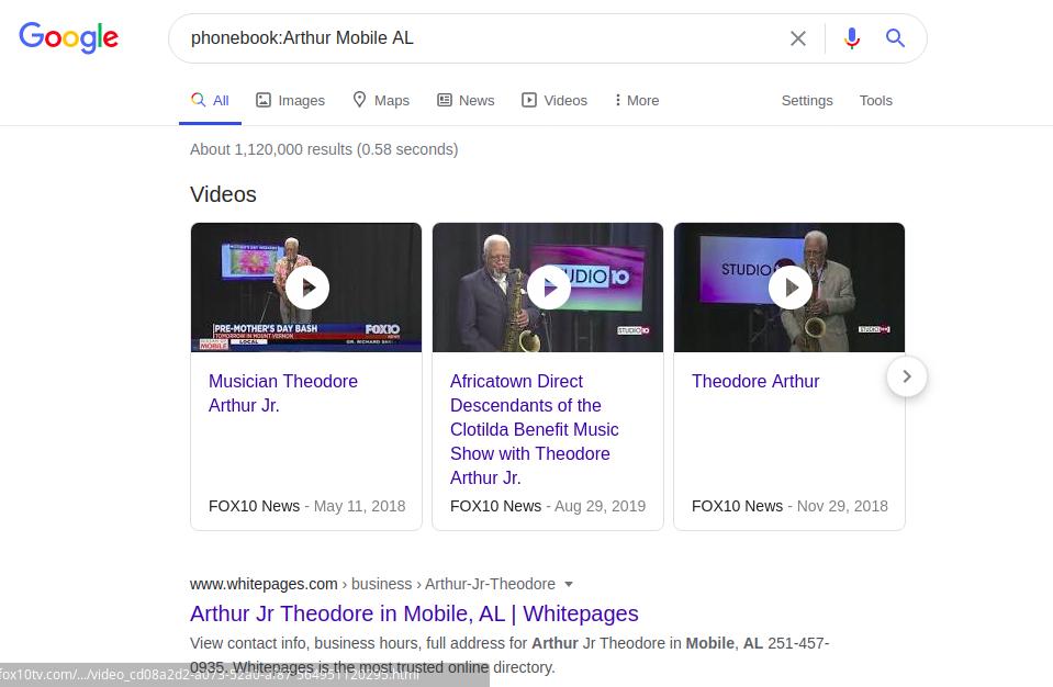 Google Dorking или используем Гугл на максимум - 7