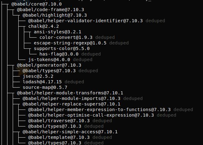 Установка и обновление зависимостей в JavaScript - 2