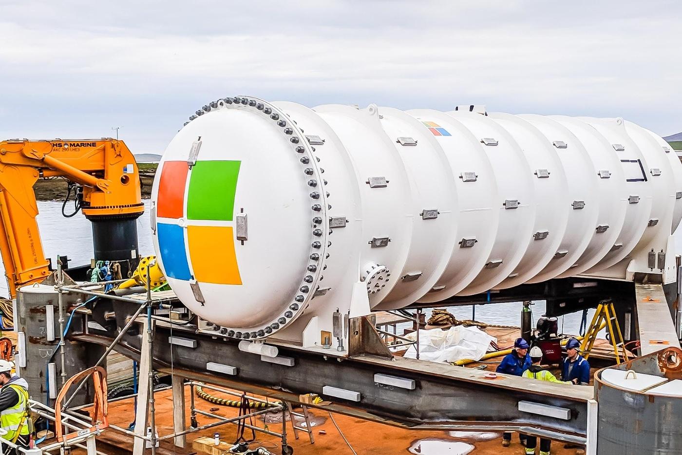Microsoft затопит в море новый дата-центр семейства Natick - 3