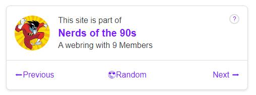 Возвращение веба 90-х годов - 3