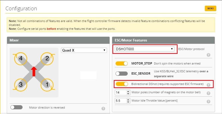 FPV Квадрокоптер: Фильтрация в Betaflight - 11