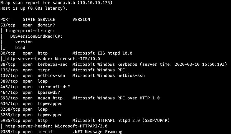 HackTheBox. Прохождение Sauna. LDAP, AS-REP Roasting, AutoLogon, DCSync атака - 4