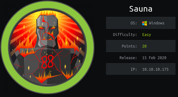 HackTheBox. Прохождение Sauna. LDAP, AS-REP Roasting, AutoLogon, DCSync атака - 1