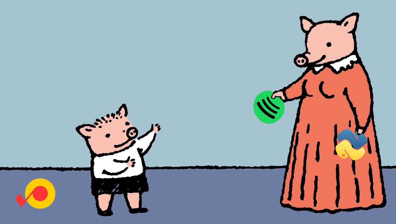 Пётр и крышка спотифая