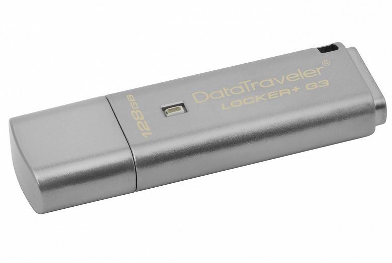 Kingston добавляет модели объемом 128 ГБ в три линейки USB-накопителей с шифрованием