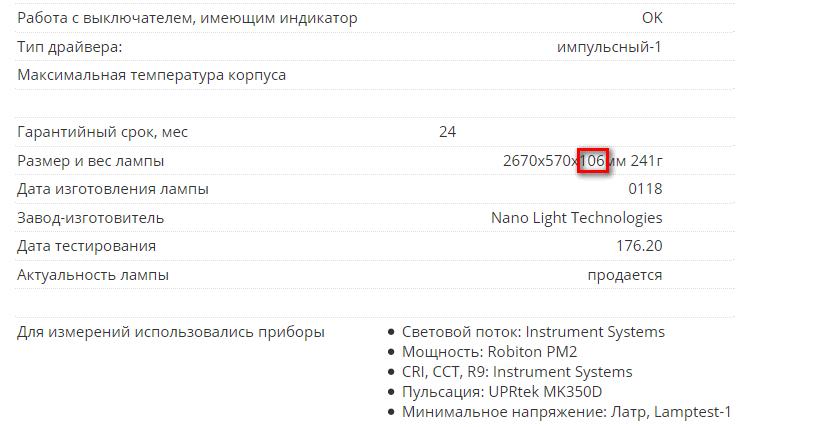 Lamptest.ru: 5 лет, 3500 ламп, новые возможности - 7