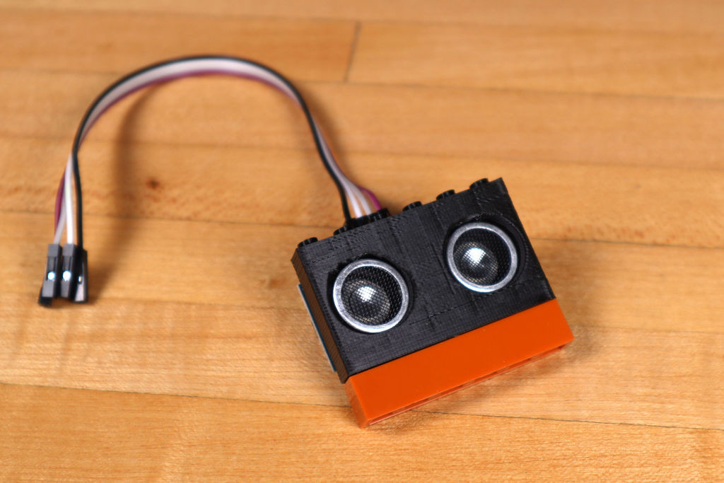 Робот из LEGO и Arduino, обходящий препятствия - 17