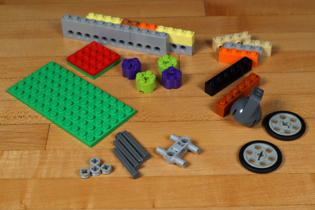 Робот из LEGO и Arduino, обходящий препятствия - 3