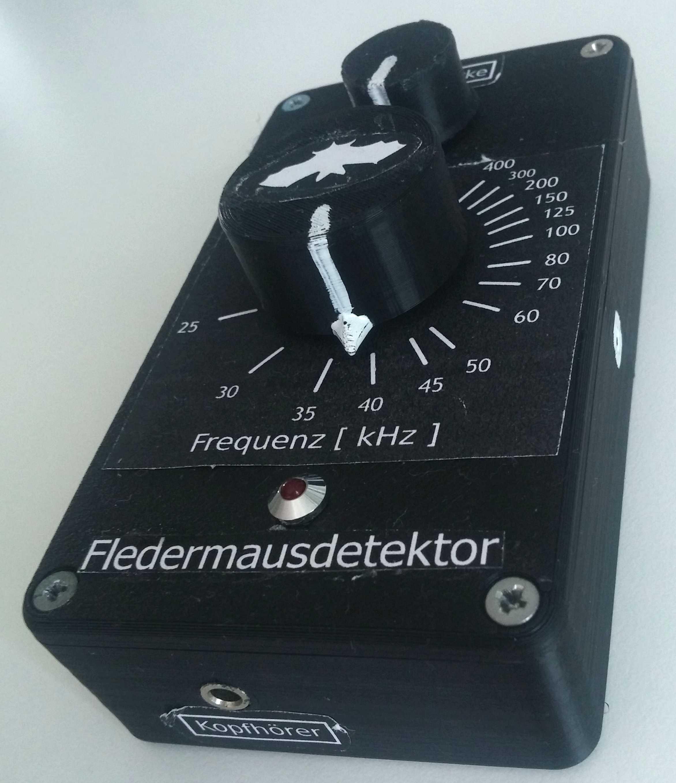 Гетеродинный ультразвуковой детектор летучих мышей - 15
