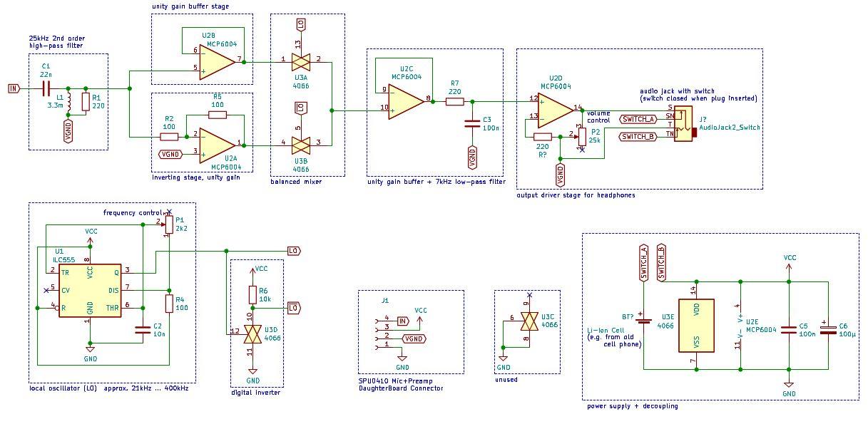 Гетеродинный ультразвуковой детектор летучих мышей - 6