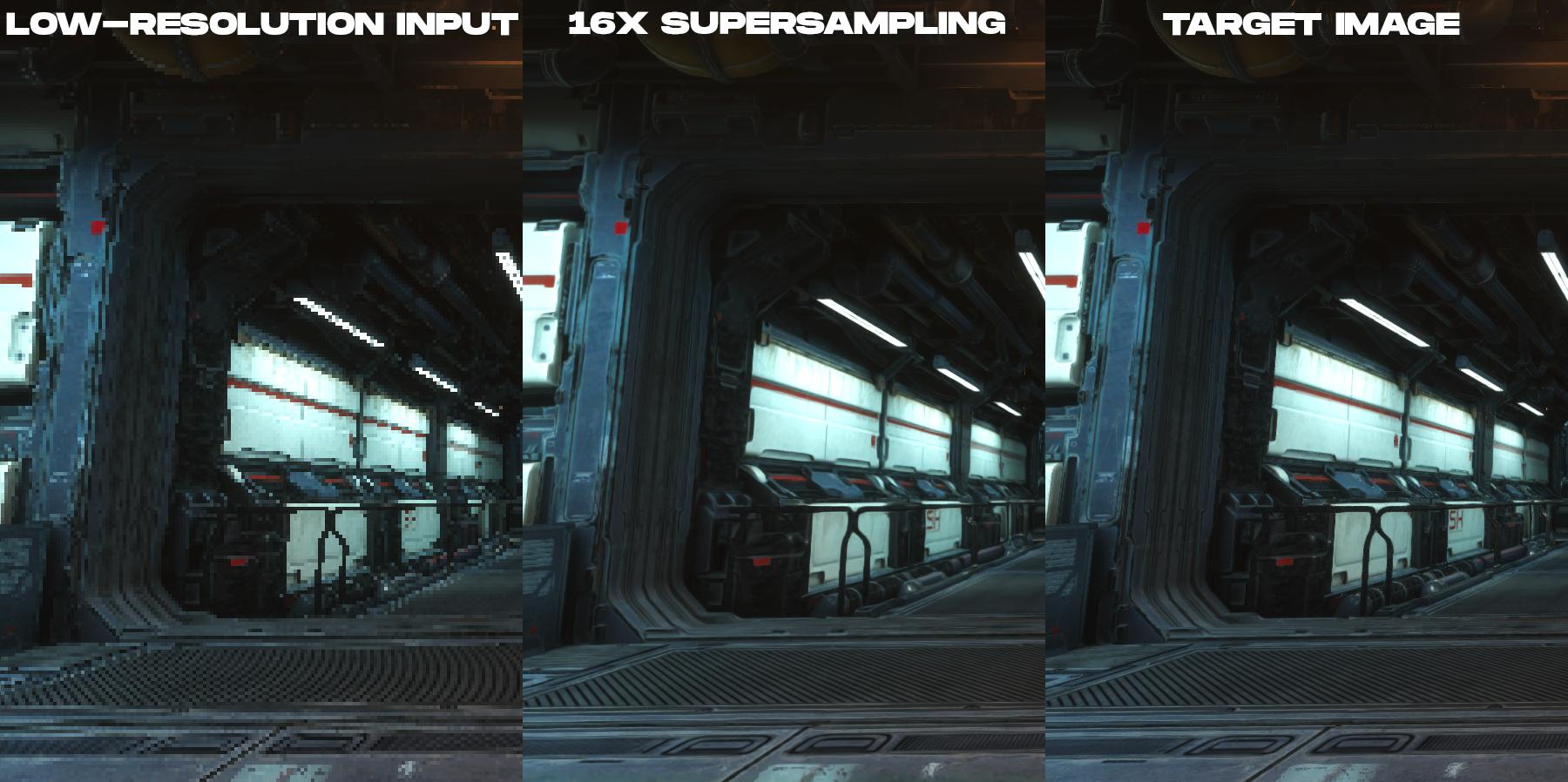 Нейронное суперсэмплирование при рендеринге в реальном времени - 6