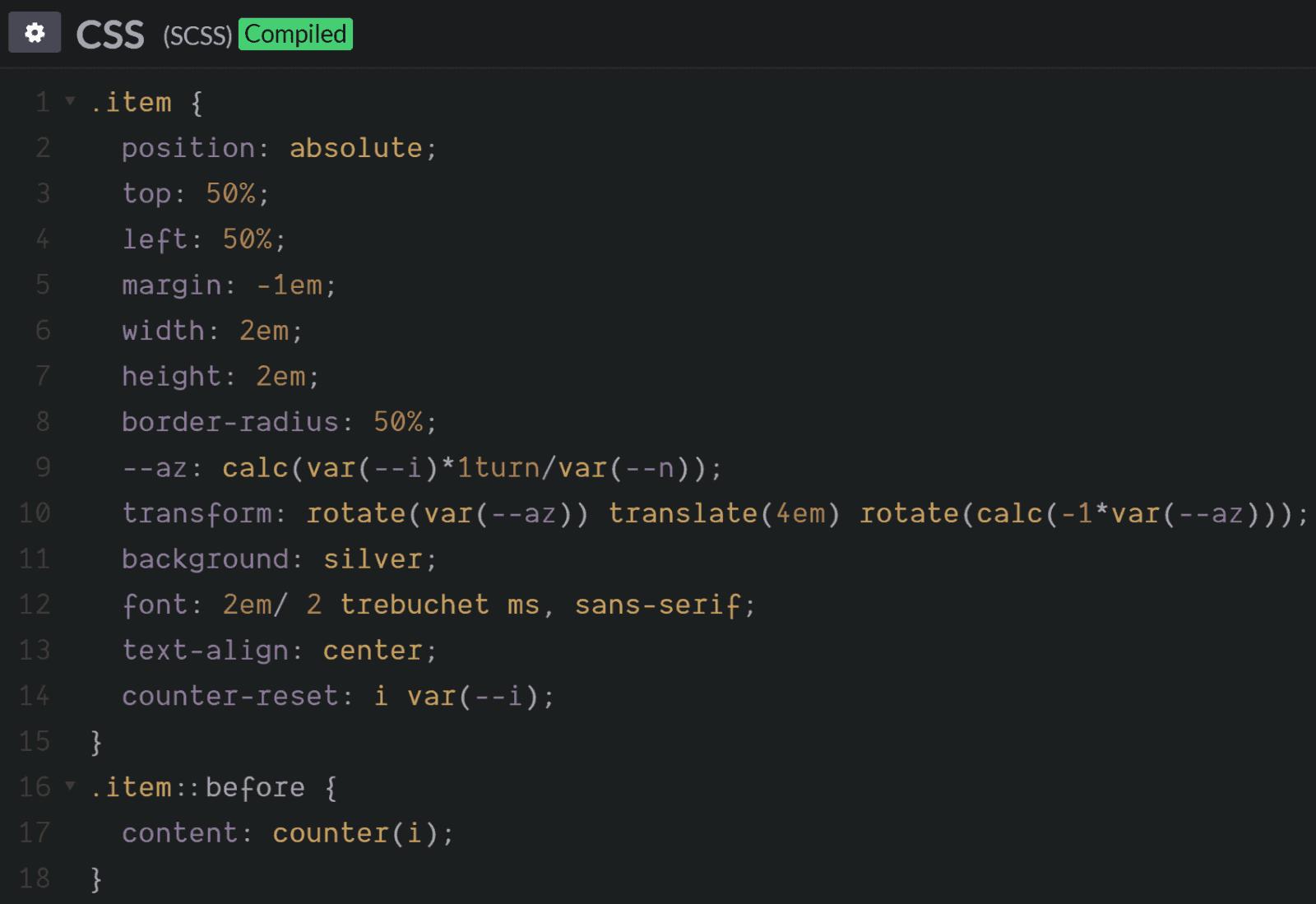 О конфликтах Sass и сравнительно новых возможностей CSS - 13