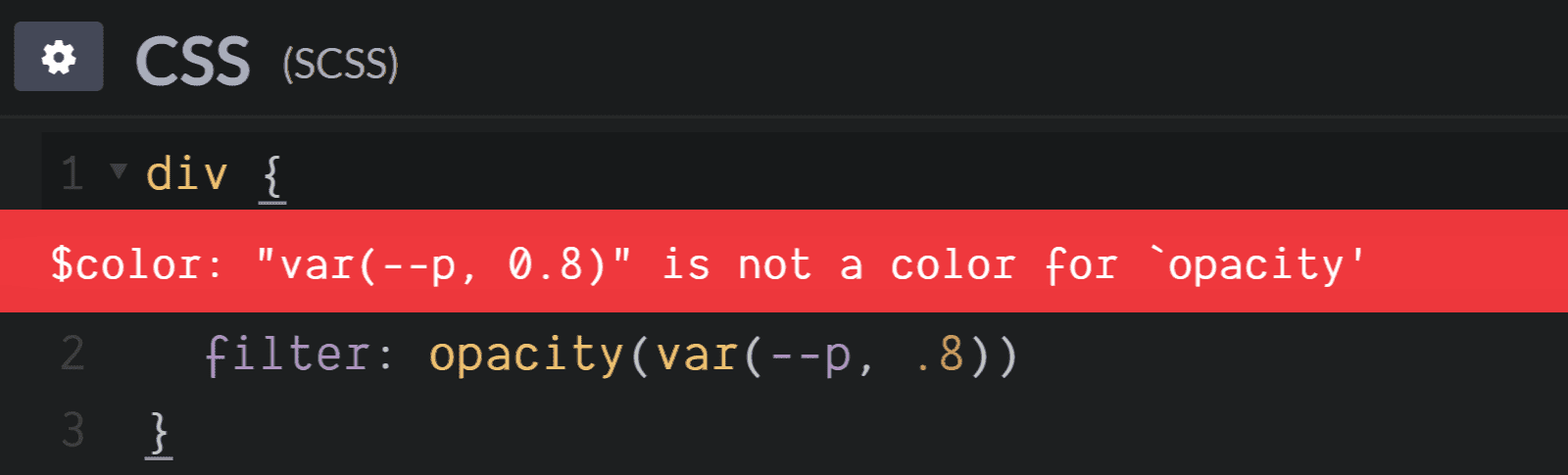 О конфликтах Sass и сравнительно новых возможностей CSS - 6