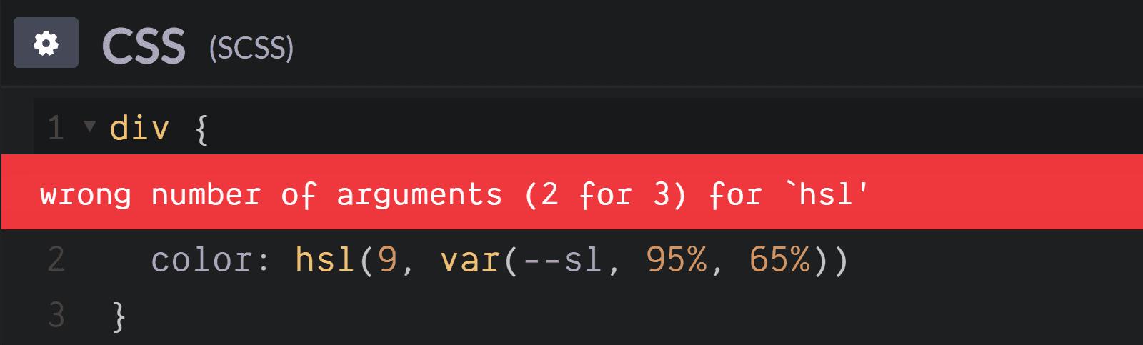 О конфликтах Sass и сравнительно новых возможностей CSS - 7