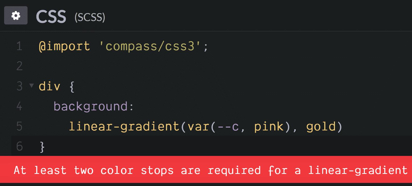 О конфликтах Sass и сравнительно новых возможностей CSS - 9