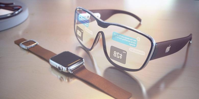 Очки Apple Glasses смогут превратить любую поверхность в сенсорный экран