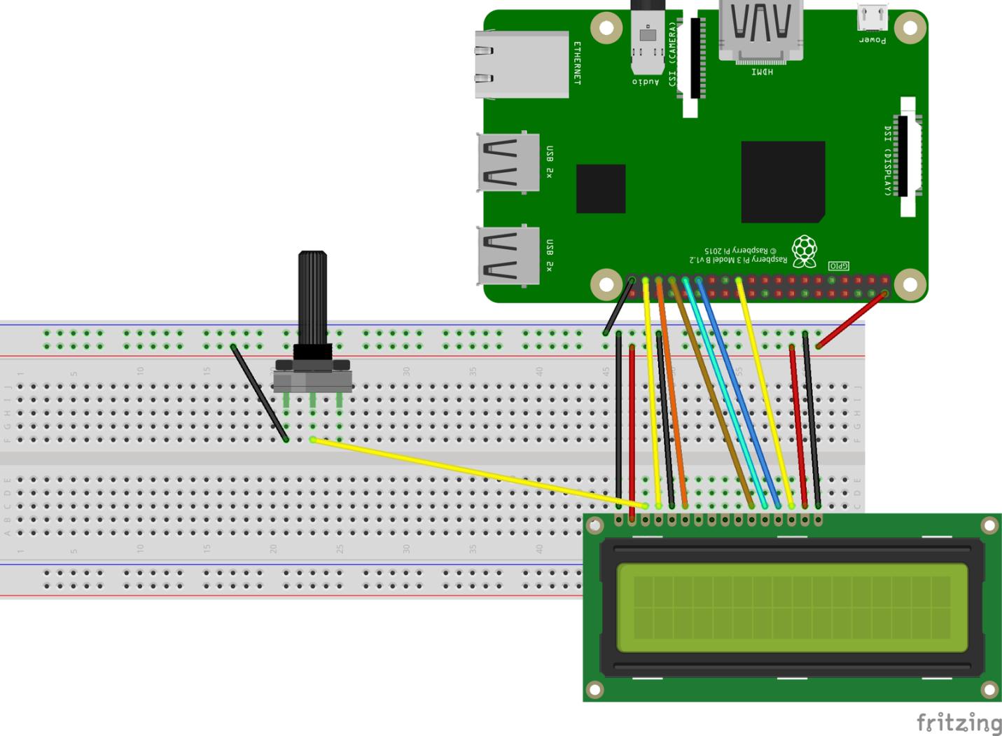 Мониторинг погоды с помощью Node.js, Raspberry Pi и LCD-дисплея - 6