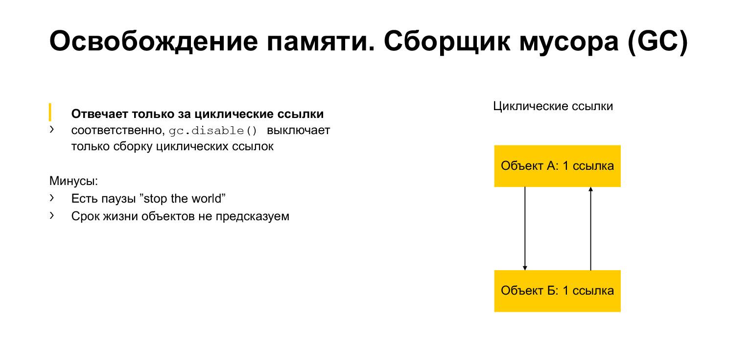 Устройство CPython. Доклад Яндекса - 45