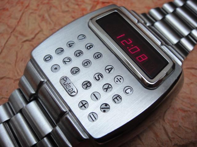 Электронные часы 1975 года «Calculator» от Pulsar - 2