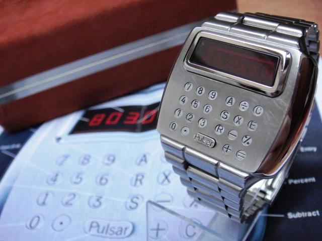 Электронные часы 1975 года «Calculator» от Pulsar - 4