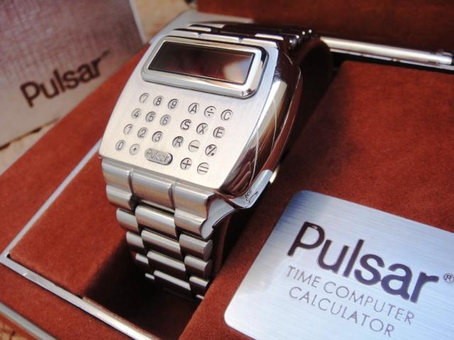 Электронные часы 1975 года «Calculator» от Pulsar - 7