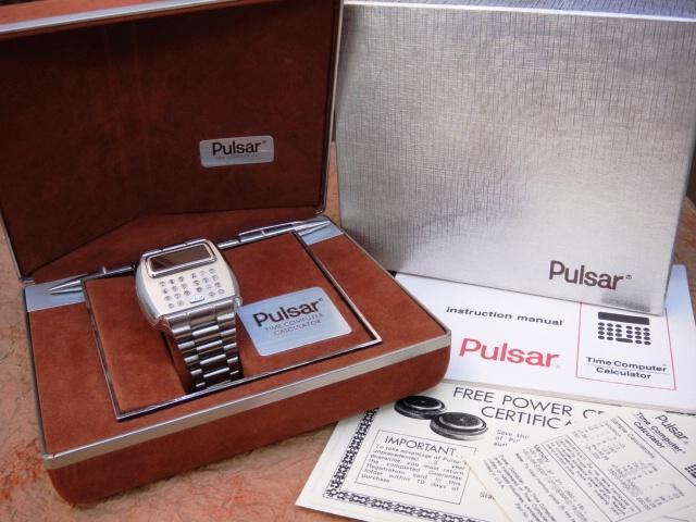 Электронные часы 1975 года «Calculator» от Pulsar - 8