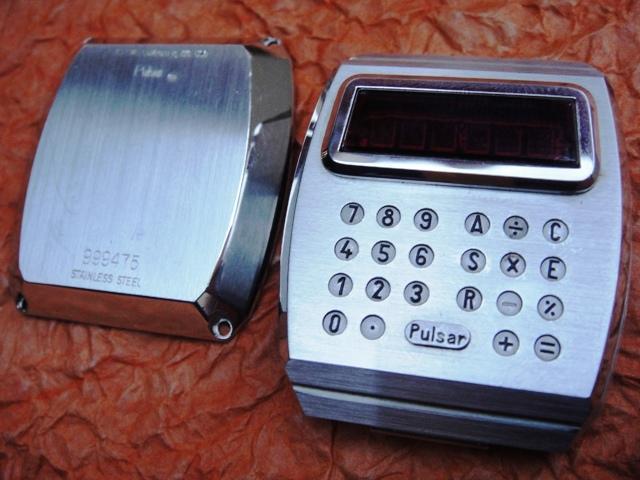 Электронные часы 1975 года «Calculator» от Pulsar - 9