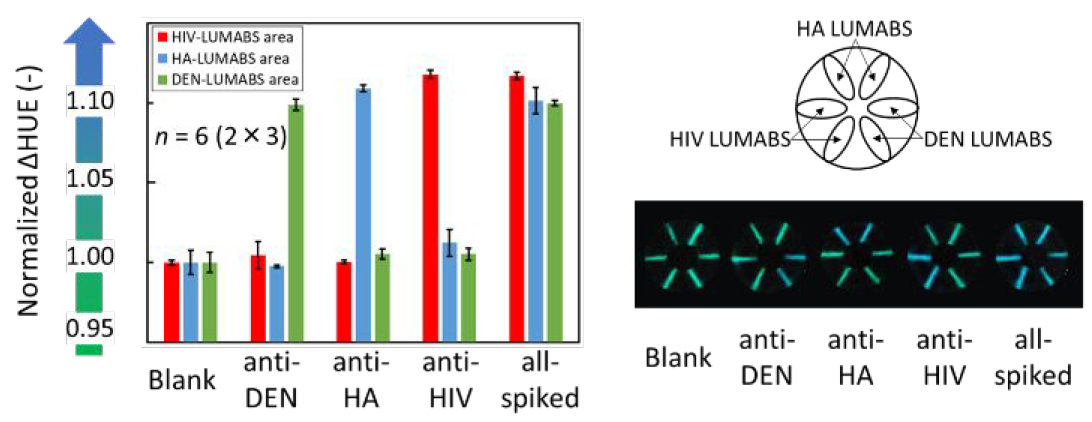 Хлопковая нить, биолюминесценция и смартфон: анализ крови на антитела за 5 минут - 7