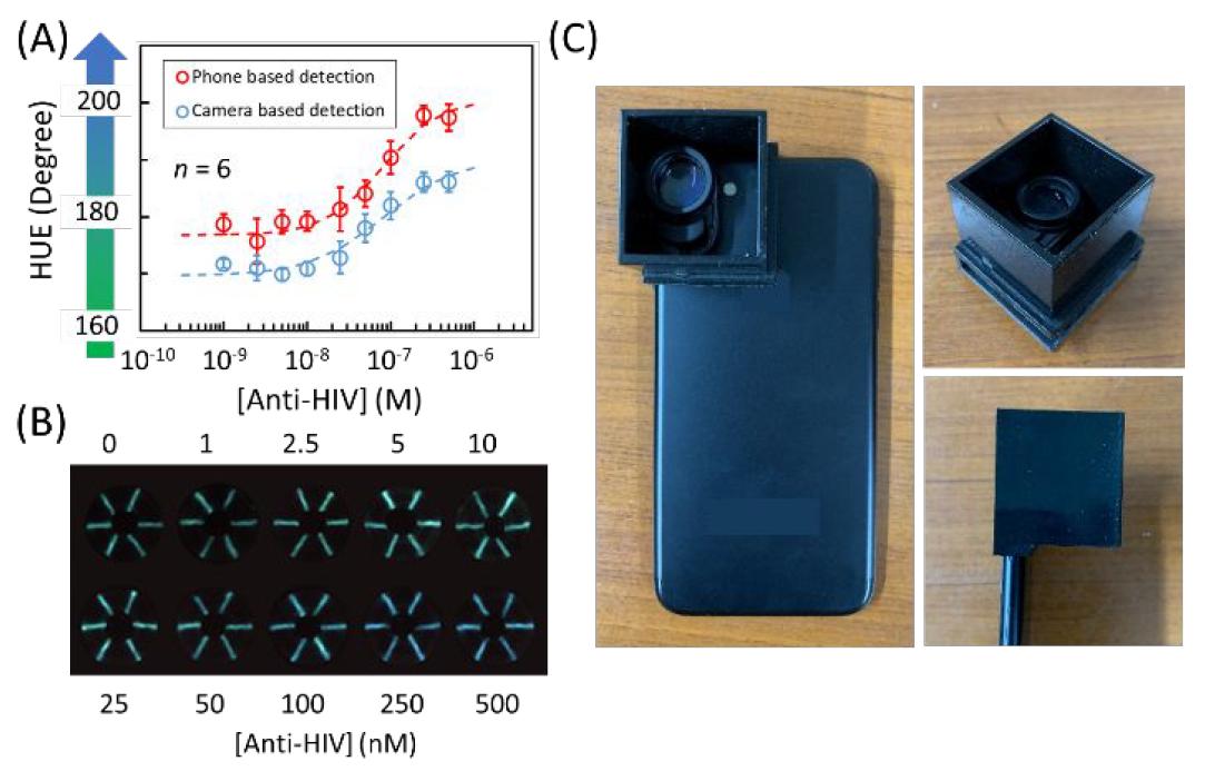 Хлопковая нить, биолюминесценция и смартфон: анализ крови на антитела за 5 минут - 8