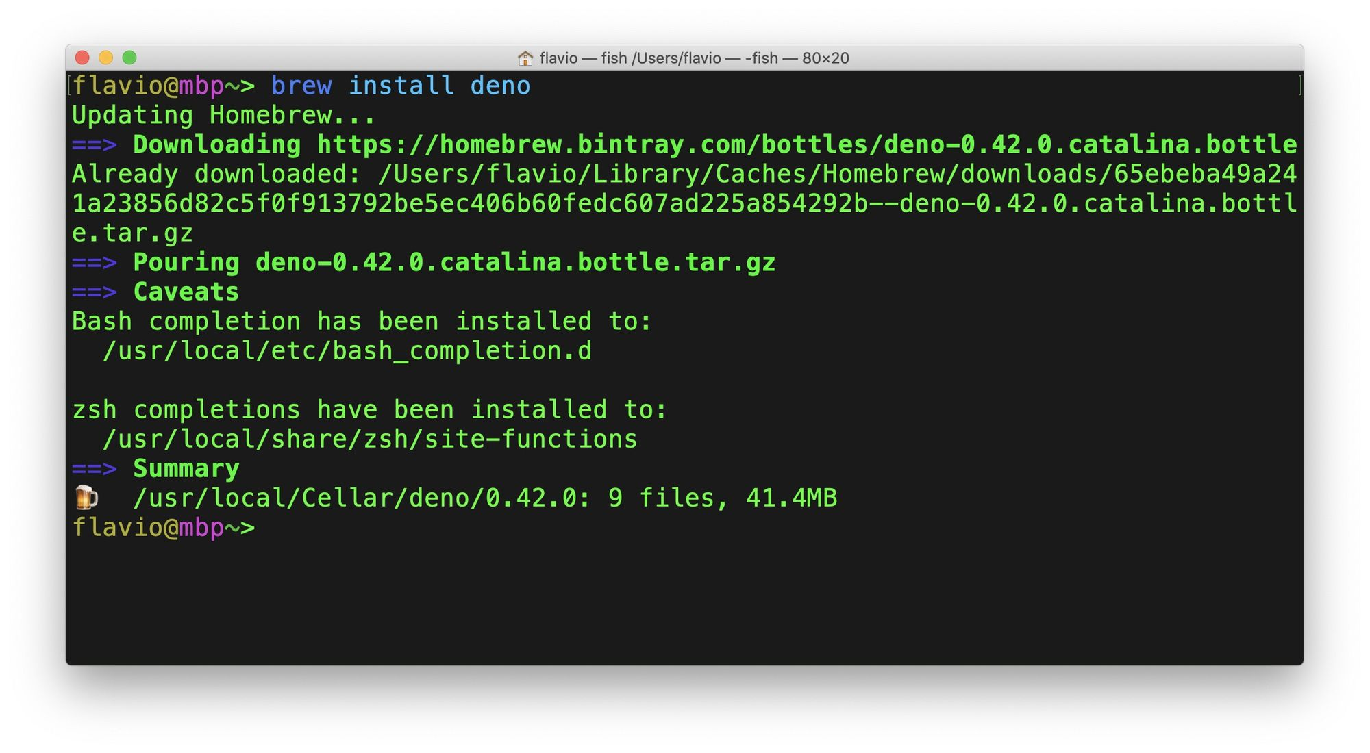 Руководство по Deno: примеры работы со средой выполнения TypeScript - 2