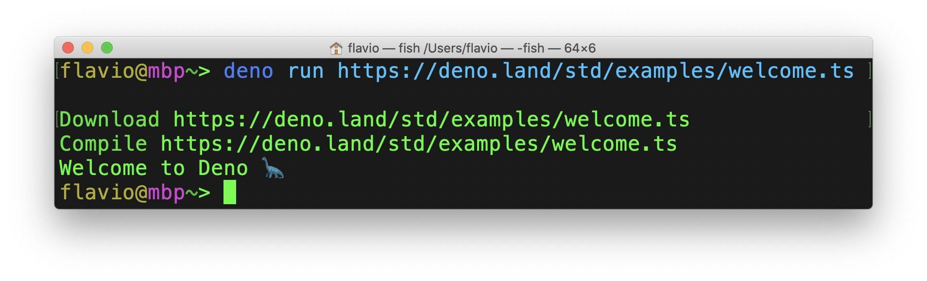 Руководство по Deno: примеры работы со средой выполнения TypeScript - 3